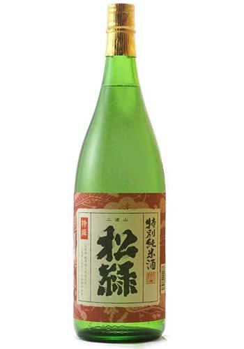 松緑 特別純米酒