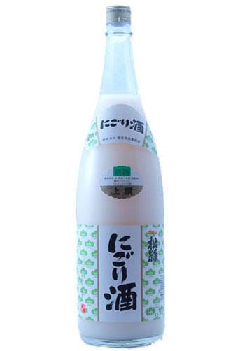 松緑 にごり酒